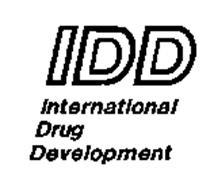 IDD INTERNATIONAL DRUG DEVELOPMENT
