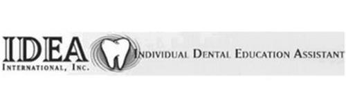 IDEA INTERNATIONAL, INC. INDIVIDUAL DENTAL EDUCATION ASSISTANT