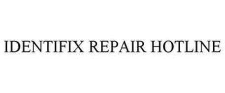 IDENTIFIX REPAIR HOTLINE