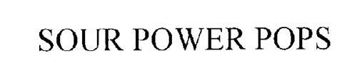 SOUR POWER POPS