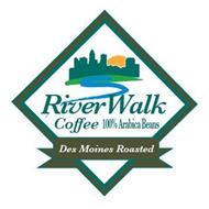 RIVERWALK COFFEE 100% ARABICA BEANS DES MOINES ROASTED