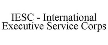 IESC - INTERNATIONAL EXECUTIVE SERVICE CORPS