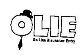 OLIE ON LINE INSURANCE ENTRY