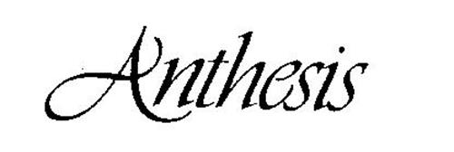 anthesis in