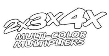 2X3X4X MULTI-COLOR MULTIPLIERS