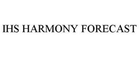 IHS HARMONY FORECAST