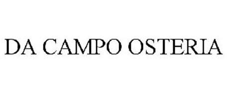DA CAMPO OSTERIA