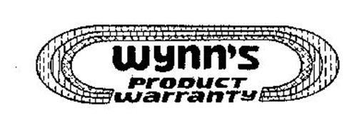 WYNN'S PRODUCT WARRANTY