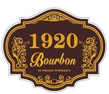 1920 BOURBON 90 PROOF WHISKEY
