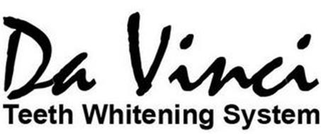 DA VINCI TEETH WHITENING SYSTEM