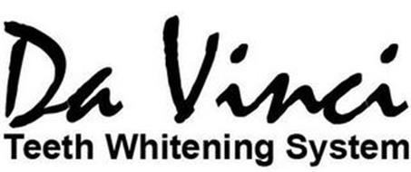 DA VINCI TEETH WHITENING SYSTEM