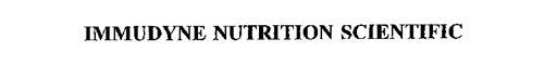 IMMUDYNE NUTRITION SCIENTIFIC