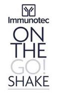 Y IMMUNOTEC ON THE GO! SHAKE