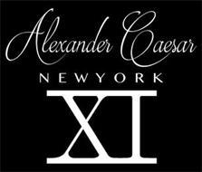 ALEXANDER CAESAR NEW YORK XI