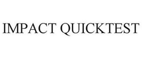 IMPACT QUICKTEST