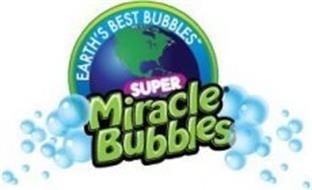 EARTH'S BEST BUBBLES SUPER MIRACLE BUBBLES