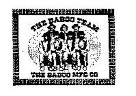 THE BABOO TEAM THE BABOO MFG CO