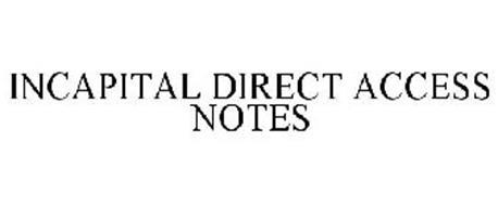 INCAPITAL DIRECT ACCESS NOTES