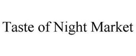 TASTE OF NIGHT MARKET