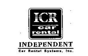 ICR CAR RENTAL INDEPENDENT CAR RENTAL SYSTEMS, INC.