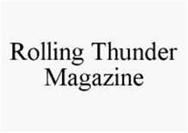 ROLLING THUNDER MAGAZINE
