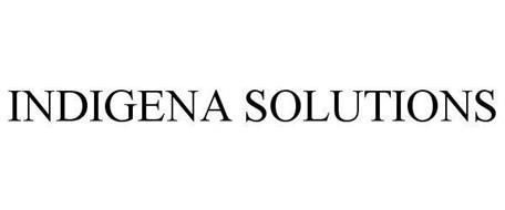 Indigena Solutions Trademark Of Indigena Solutions Lp