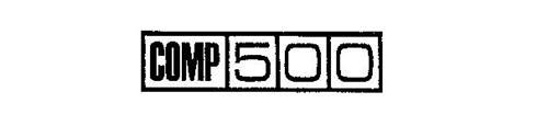 COMP 500