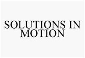 SOLUTIONS IN MOTION