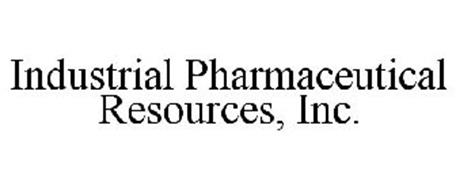 INDUSTRIAL PHARMACEUTICAL RESOURCES, INC.