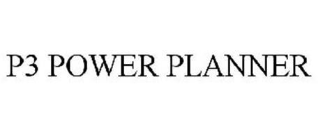 P3 POWER PLANNER