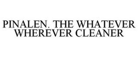 PINALEN. THE WHATEVER WHEREVER CLEANER