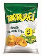 TORTOLINES GARLIC PLANTAIN CHIPS