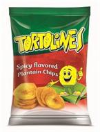 TORTOLINES SPICY FLAVORED PLANTAIN CHIPS