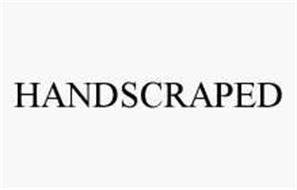 HANDSCRAPED