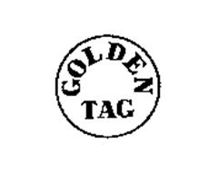 GOLDEN TAG