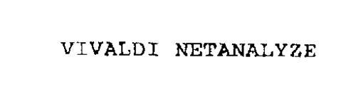VIVALDI NETANALYZE