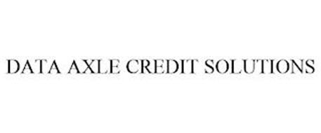 DATA AXLE CREDIT SOLUTIONS