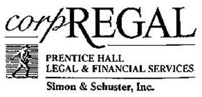 CORPREGAL PRENTICE HALL LEGAL & FINANCIAL SERVICES SIMON & SCHUSTER, INC.