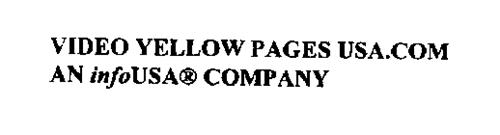 VIDEO YELLOW PAGES USA.COM AN INFOUSA_ COMPANY