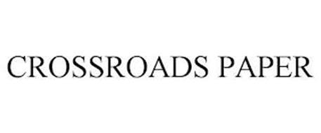 CROSSROADS PAPER