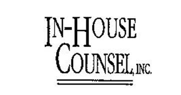 IN-HOUSE COUNSEL, INC.