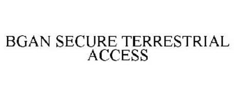 BGAN SECURE TERRESTRIAL ACCESS