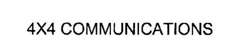 4X4 COMMUNICATIONS