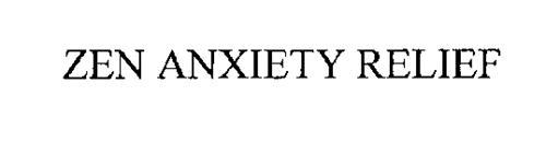 ZEN ANXIETY RELIEF