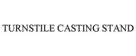 TURNSTILE CASTING STAND