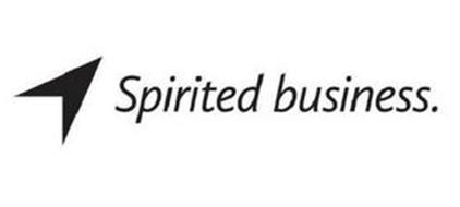 SPIRITED BUSINESS.