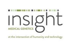 INSIGHT MEDICAL GENETICS AT THE INTERSECTION OF HUMANITY AND TECHNOLOGY
