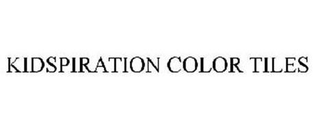 KIDSPIRATION COLOR TILES