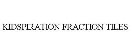 KIDSPIRATION FRACTION TILES