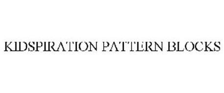 KIDSPIRATION PATTERN BLOCKS